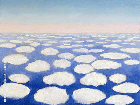 Above The Clouds 1 1962 By Georgia O'Keeffe - Oil Paintings & Art Reproductions - Reproduction Gallery