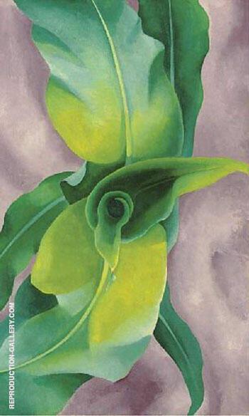 Corn 1924 No 3 By Georgia O'Keeffe