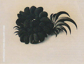 Eagle Claw And Bean Necklace 1934 Painting By Georgia O'Keeffe