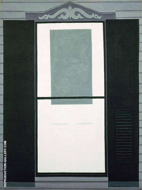 Farmhouse Window and Door 1929 By Georgia O'Keeffe