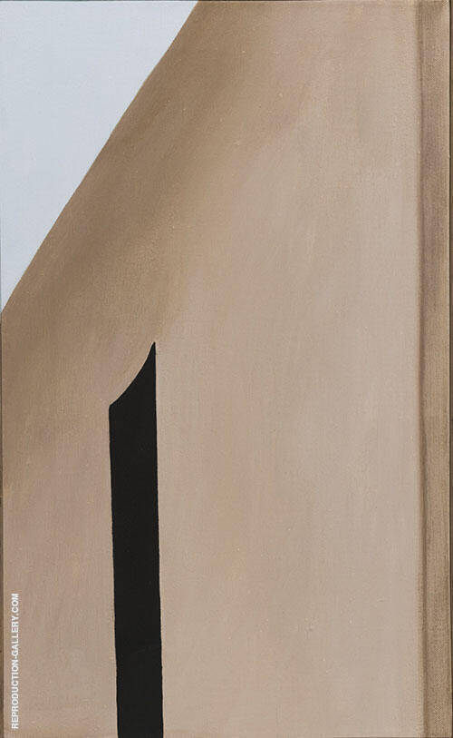 Reproduction of Black Patio Door 1955 by Georgia O'Keeffe | Oil Painting Replica On CanvasReproduction Gallery