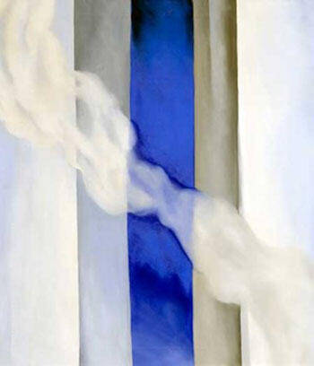 Reproduction of Blue 1958 1 by Georgia O'Keeffe | Oil Painting Replica On CanvasReproduction Gallery