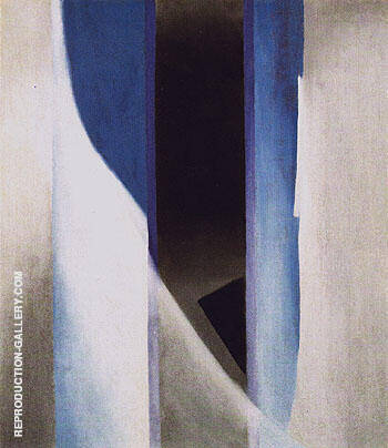 Reproduction of Blue1958 2 by Georgia O'Keeffe | Oil Painting Replica On CanvasReproduction Gallery