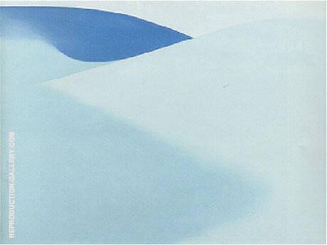 Blue Sand 1957 By Georgia O'Keeffe