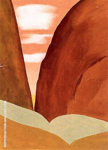 Canyon 1965 No 2 By Georgia O'Keeffe