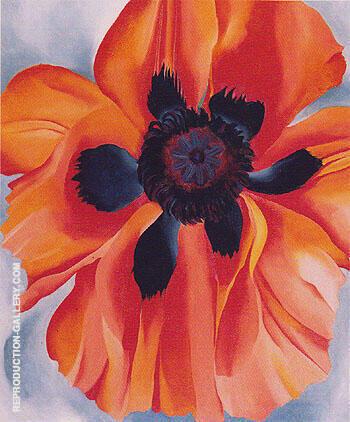 Red Poppy 1928 No VI By Georgia O'Keeffe