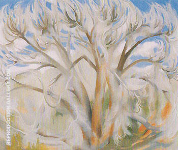 Cottonwood 1944 1 Painting By Georgia O'Keeffe - Reproduction Gallery