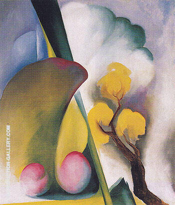 Reproduction of Spring c1922 by Georgia O'Keeffe | Oil Painting Replica On CanvasReproduction Gallery