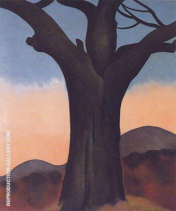 The Chestnut Grey 1924 By Georgia O'Keeffe
