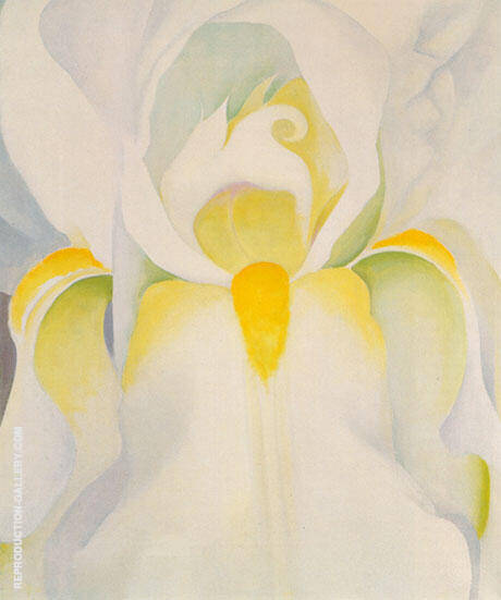 Untitled White Iris 1926 Painting By Georgia O'Keeffe
