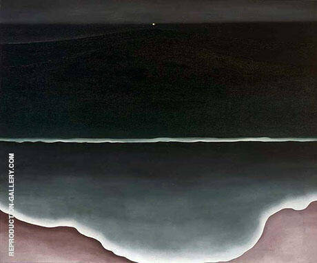 Wave Night 1928 By Georgia O'Keeffe