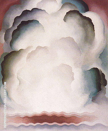 Abstraction Alexius 1928 By Georgia O'Keeffe