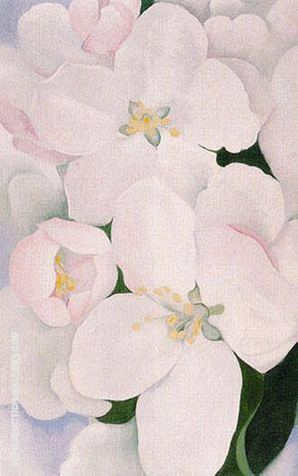 Apple Blossoms 1930 2 By Georgia O'Keeffe