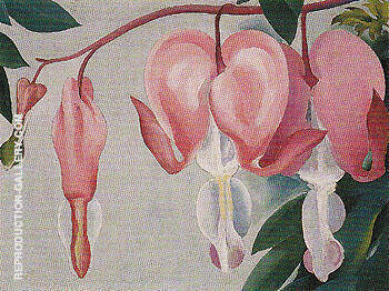 Bleeding Heart 1938 1 Painting By Georgia O'Keeffe - Reproduction Gallery