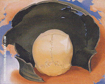 Head With Broken Pot 1942 2 By Georgia O'Keeffe Replica Paintings on Canvas - Reproduction Gallery