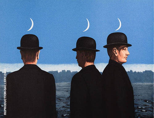 Reproduction of Le Chef d'oeuvre ou les Mysteres de l'horizon by Rene Magritte | Oil Painting Replica On CanvasReproduction Gallery