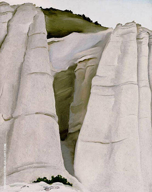 Reproduction of From The White Place 1940 by Georgia O'Keeffe | Oil Painting Replica On CanvasReproduction Gallery