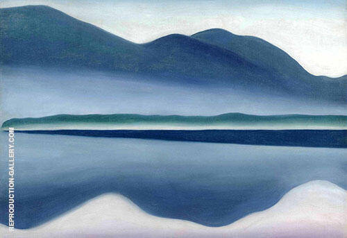 Grey Lake George 1922 By Georgia O'Keeffe