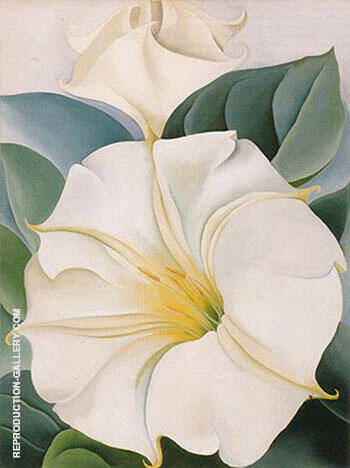Reproduction of Jimson Weed 1931 3 by Georgia O'Keeffe | Oil Painting Replica On CanvasReproduction Gallery