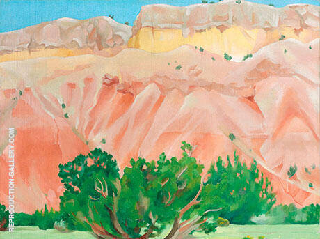 Reproduction of My Back Yard 1943 by Georgia O'Keeffe | Oil Painting Replica On CanvasReproduction Gallery