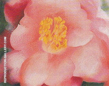 Pink Camellia 1945 Painting By Georgia O'Keeffe - Reproduction Gallery
