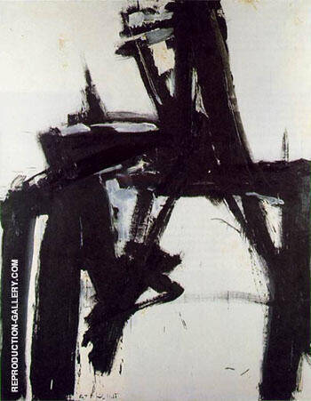 Untitled 1957 D1 By Franz Kline