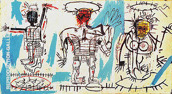 Baby Boom 1982 Painting By Jean-Michel-Basquiat - Reproduction Gallery