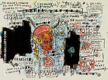 Untitled The Daros Suite of Thirty two Drawings c1982 By Jean-Michel-Basquiat