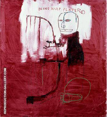 Deaf 1984 By Jean-Michel-Basquiat Replica Paintings on Canvas - Reproduction Gallery