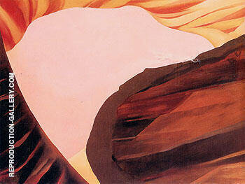 On The River 1965 1 Painting By Georgia O'Keeffe - Reproduction Gallery