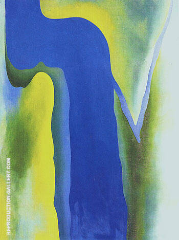 On The River 1964 By Georgia O'Keeffe