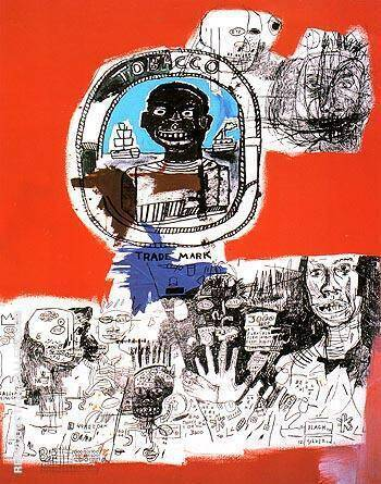 Logo 1984 Painting By Jean-Michel-Basquiat - Reproduction Gallery