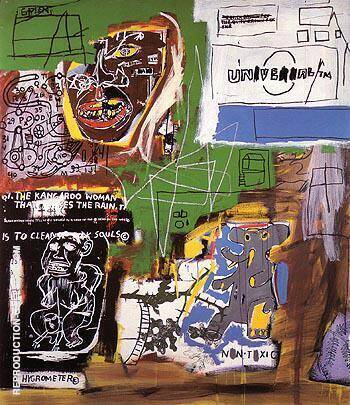 Sienna 1984 By Jean-Michel-Basquiat Replica Paintings on Canvas - Reproduction Gallery
