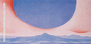 Pedernal 1945 By Georgia O'Keeffe - Oil Paintings, Reproduction Art