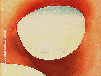 Pedernal From The Ranch 1956 1 By Georgia O'Keeffe