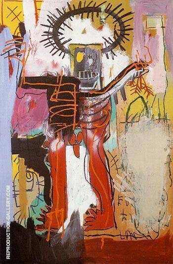 Untitled 1981 5 By Jean-Michel-Basquiat Replica Paintings on Canvas - Reproduction Gallery