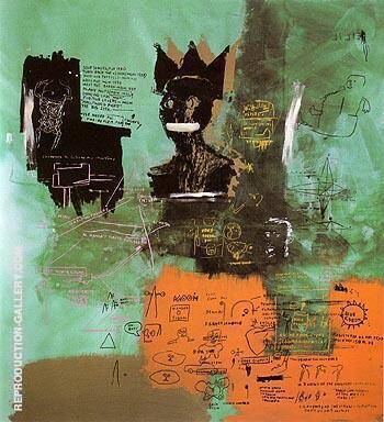 Untitled 1984 6 By Jean-Michel-Basquiat Replica Paintings on Canvas - Reproduction Gallery