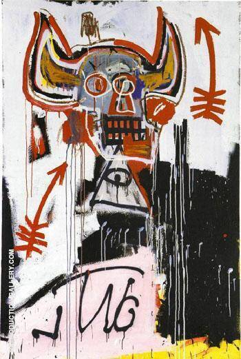Untitled 2 Painting By Jean-Michel-Basquiat - Reproduction Gallery