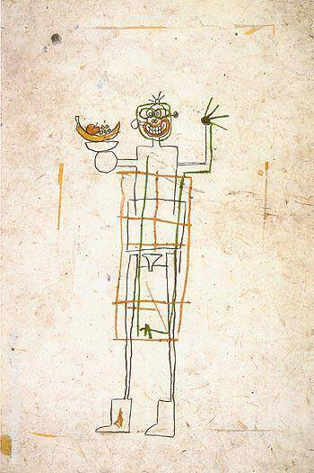 Untitled 1982 13 By Jean-Michel-Basquiat