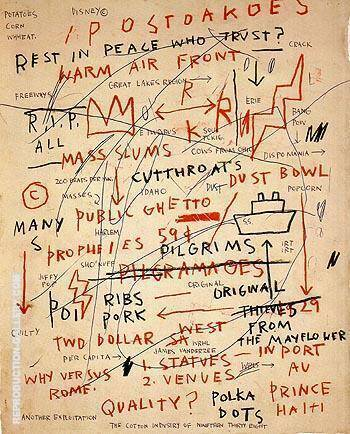 Untitled Quality 1983 By Jean-Michel-Basquiat