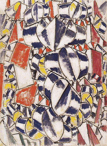 Reproduction of Contrast of Forms 1913 by Fernand Leger | Oil Painting Replica On CanvasReproduction Gallery