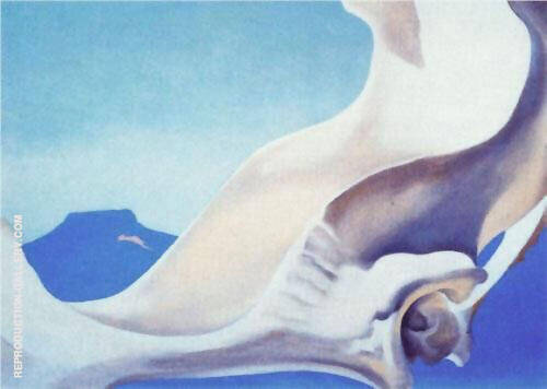 Pelvis With Pedernal 1943 By Georgia O'Keeffe