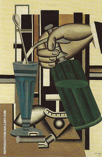 The Syphon 1924 By Fernand Leger Replica Paintings on Canvas - Reproduction Gallery