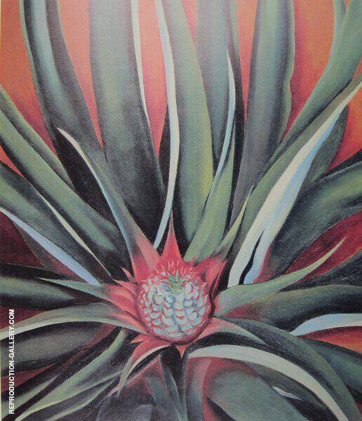 Pineapple Bud 1939 Painting By Georgia O'Keeffe - Reproduction Gallery