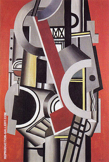 Mechanical Element 1924 By Fernand Leger