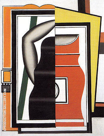 The Mirror 1925 Painting By Fernand Leger - Reproduction Gallery