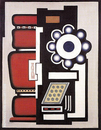 Reproduction of Ball Bearings 1926 by Fernand Leger | Oil Painting Replica On CanvasReproduction Gallery