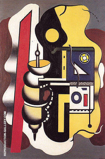 Composition 1930 By Fernand Leger - Oil Paintings & Art Reproductions - Reproduction Gallery