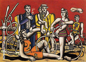 Leisure 1944 By Fernand Leger