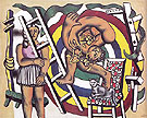The Acrobat and His Partner 1948 By Fernand Leger